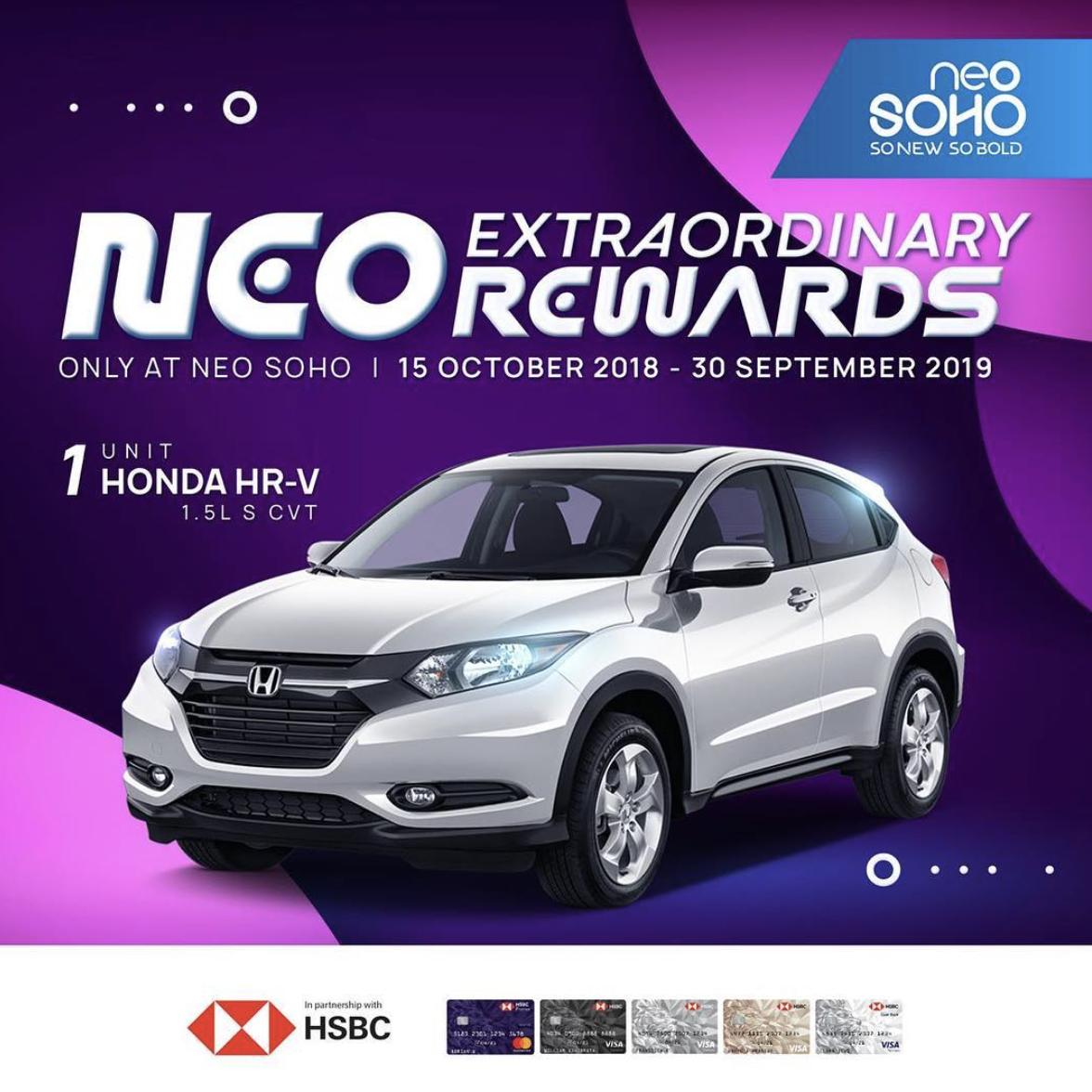 Neo Idr: NEO EXTRAORDINARY REWARDS 2018